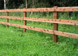 Post and Rail Fencing Somerset Rural Training